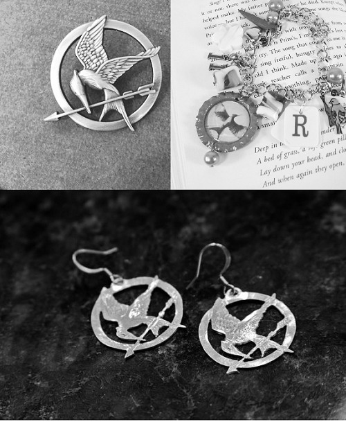 nightlock-lacedbread:   MockingJay Pin, MockingJay Earrings, & Rue Charm Bracelet Giveaway! This giveaway is very much simple, the first winner will get to choose 2 things, and the second winner will get whatevers left. The first winner will be announced on March 19th, and The second winner will be announced on March 21st!  Rules: You must be following Nightlock-LacedBread Reblog this post only 4 times You can't reblog this in a subblog, only your main blog. Keep your ask box open  Have fun & good luck!