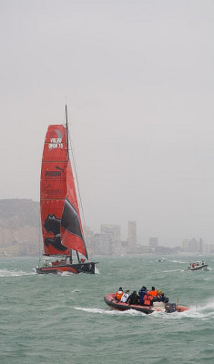 Alicante, Volvo Ocean Race by Ricardo Fernández Ferreras on Flickr.
