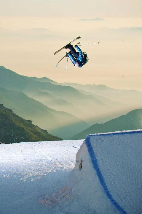 Pep Fujas getting inverted on his Kung Fujas down in Chile. Photo by Alex OBrien  .