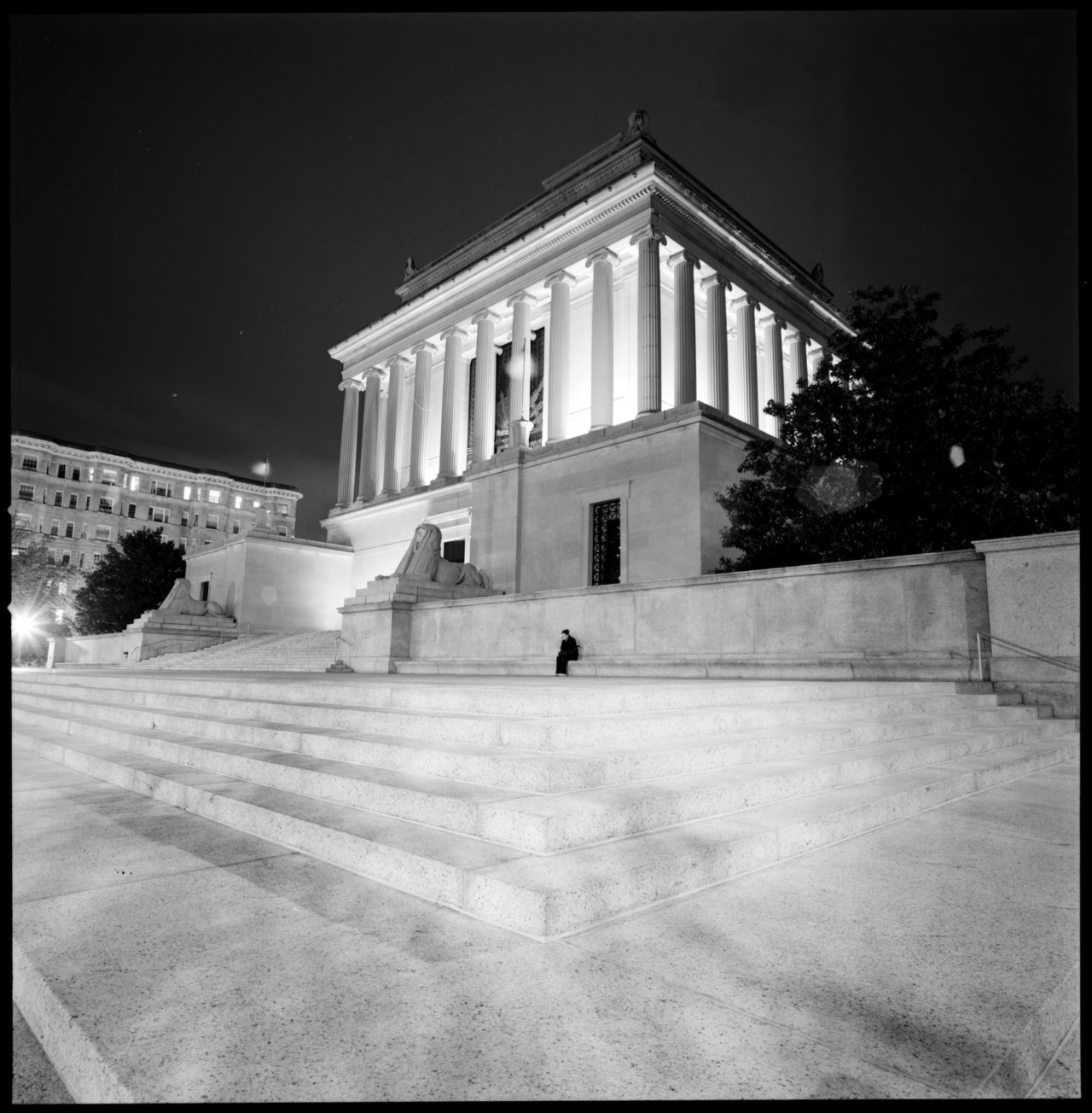 Supreme Council, 33°, Southern Jursidiction       Hasselblad SWCZeiss Biogon 38mm f/4.5Fuji Acros 100Kodak D-76, 7 minutes @ 20°CCanoScan 8800F 4 minute exposure @ f/11