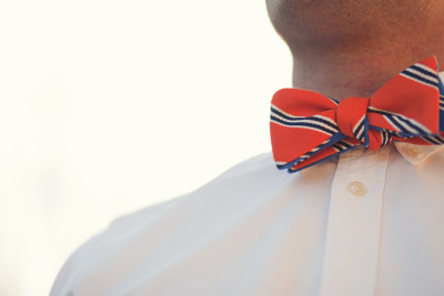 Social Primer for Brooks Brothers bow and a warm evening.