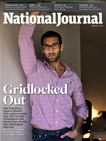 "restorationcalls:  Gridlocked Out The March 17, 2012 issue of National Journal.  Two entrepreneurs have launched a company that has investors, will provide employment and improve education. So why are they being threatened with deportation?  ""But beyond that, this is a story about how the government can't solve problems, even ones with popular solutions. And if it can't fix the simple ones, how can it be expected to tackle the nation's more intractable woes?"" Read the rest here.  Join the conversation and tell us what issues you think are facing the country and how the government is/isn't helping."