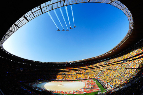 adventureobsessed:  World Cup 2010 South Africa: Opening Ceremony by toksuede on Flickr.