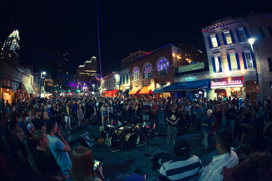 markforrer: 6th Street - Austin, Texas - SXSW Day Two - Wed 14th March