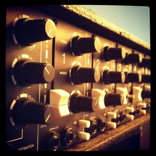 Old gear (Taken with instagram)