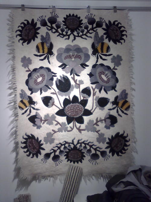 Finnish textile wall hanging
