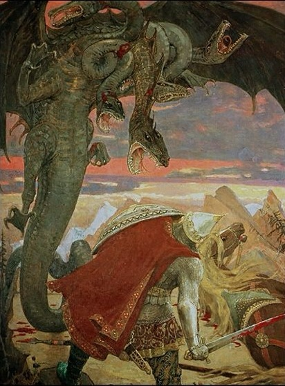 """In Slavic mythology, the word """"zmey""""and zmaj are used to describe a dragon. These words are masculine forms of the Slavic word for """"snake"""", which are normally feminine (like Russian zmeya). In Romania, there is a similar figure, derived from the Slavic dragon and named zmeu. Exclusively in Polish and Belarusian folklore, as well as in the other Slavic folklores, a dragon is also called smok (смок, цмок, smok). In South Slavic folklores, the same thing is also called lamya (ламйа, ламjа, lamja). Although quite similar to other European dragons, Slavic dragons have their peculiarities."""