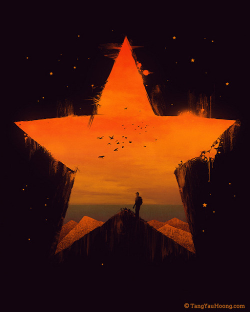 Staring Through The Star on Flickr.Tang Yau Hoong: Website | Shop | Facebook | Tumblr | Twitter  | Behance
