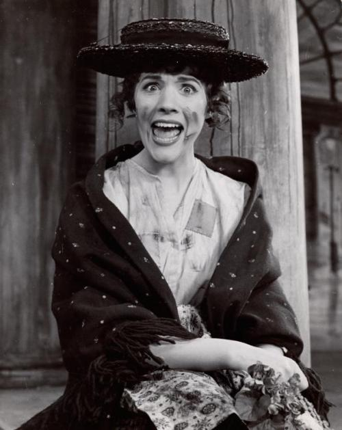 youregonnalovetomorrow:  Julie Andrews in My Fair Lady My Fair Lady opened on Broadway on March 15th 1956.