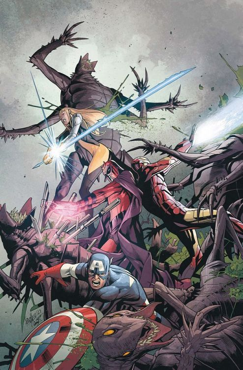 UNCANNY X-MEN #9 PREVIEW CBR posted an exclusive preview of Uncanny X-Men #9 which features the last team up between the Avengers & X-Men before #AvX. Here's the link to check out the 1st 3 pages http://www.comicbookresources.com/?page=preview&id=11776