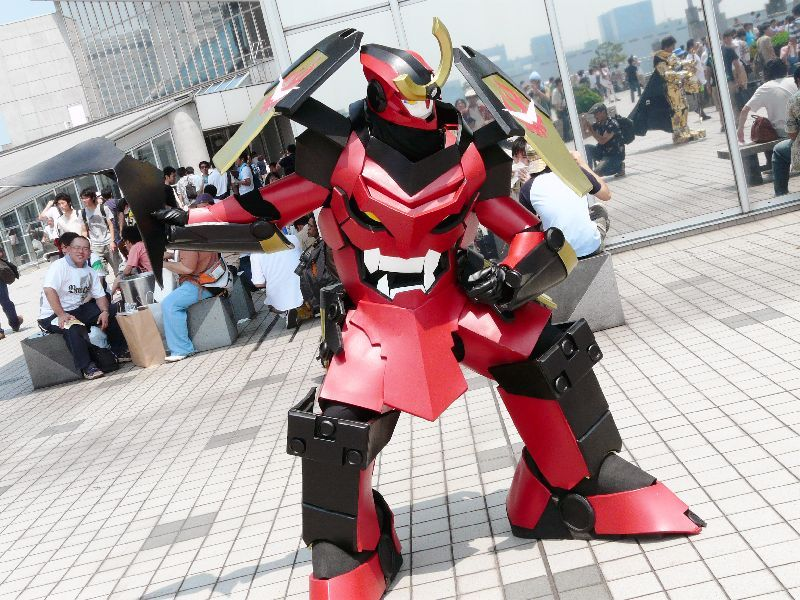 rickymarlowe:  How can a Gurren Lagann cosplay this awesome even exist?