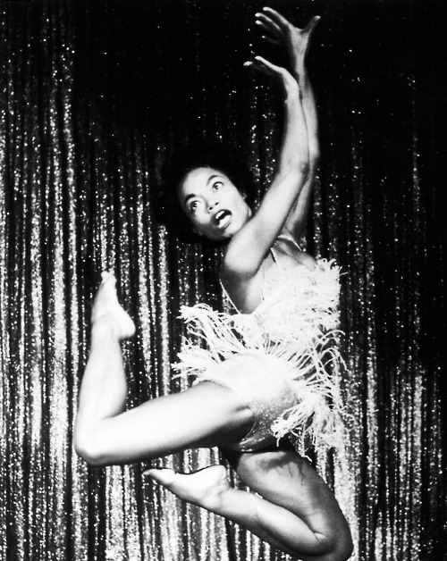 Eartha is Perrrrrfect!vintagegal:  Eartha Kitt performing in Las Vegas, 1955