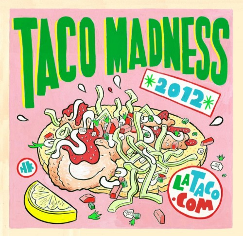 LA Taco's yearly Taco Madness bracket is live today, and I was fortunate enough to be on the bracket committee this year. Let me just say: hooo boy are there some matchups. Tacos Arizas v. Taco Zone in thefirst round?!Is El Chato seeded dangerously low? The first year of Guisado's?!  Fuck the NCAA, this is the only bracket you need.