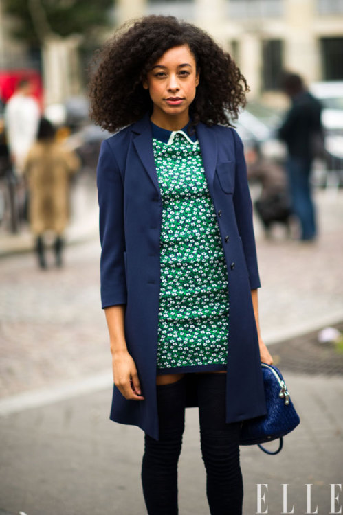 elle:  Corrine Bailey Rae in Miu Miu.  Photo: Adam Katz Sinding/Le 21ème Arrondissement