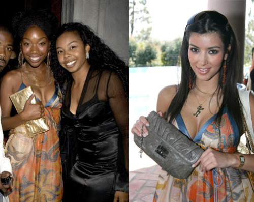 Kim Kardashian copies Brandy