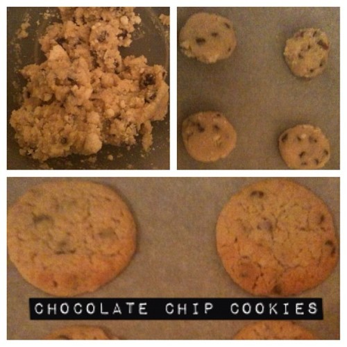 I've been busy making cookies. Here are 3 stages of cookie making 😝 #cookies #dough #baking #chocolate (Taken with instagram)