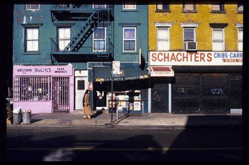 Strange Yet Familiar Photos of NYC on the Brink of the '80s Photo credit: Michael Sean Edwards. Ave. A near 5th Street, 1979