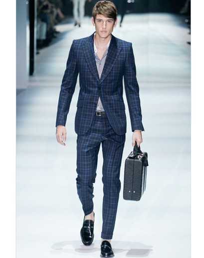 The Spring 2012 Trend Report What's great about a plaid suit? The jacket turns into the perfect sports coat. Just wear it with a pair of jeans.
