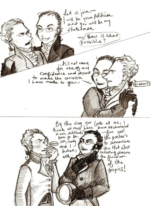 my interpretation of certain scenes from 'mrs. reynolds and hamilton: a romance' it should have been called 'aaron burr: ultra creeper'