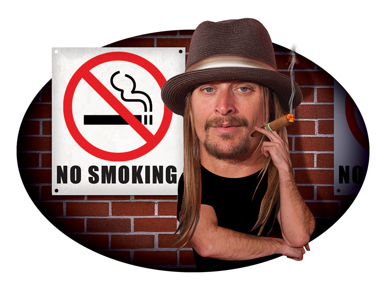 Kid Rock Illustration for Entertainment Weekly