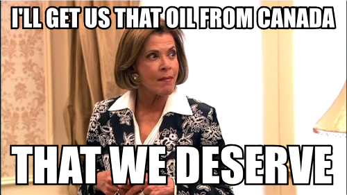 fewdull:  Pictures of Lucille Bluth with Mitt Romney quotes. via Jeff   lucilleandmitt: (by way of anonymous)