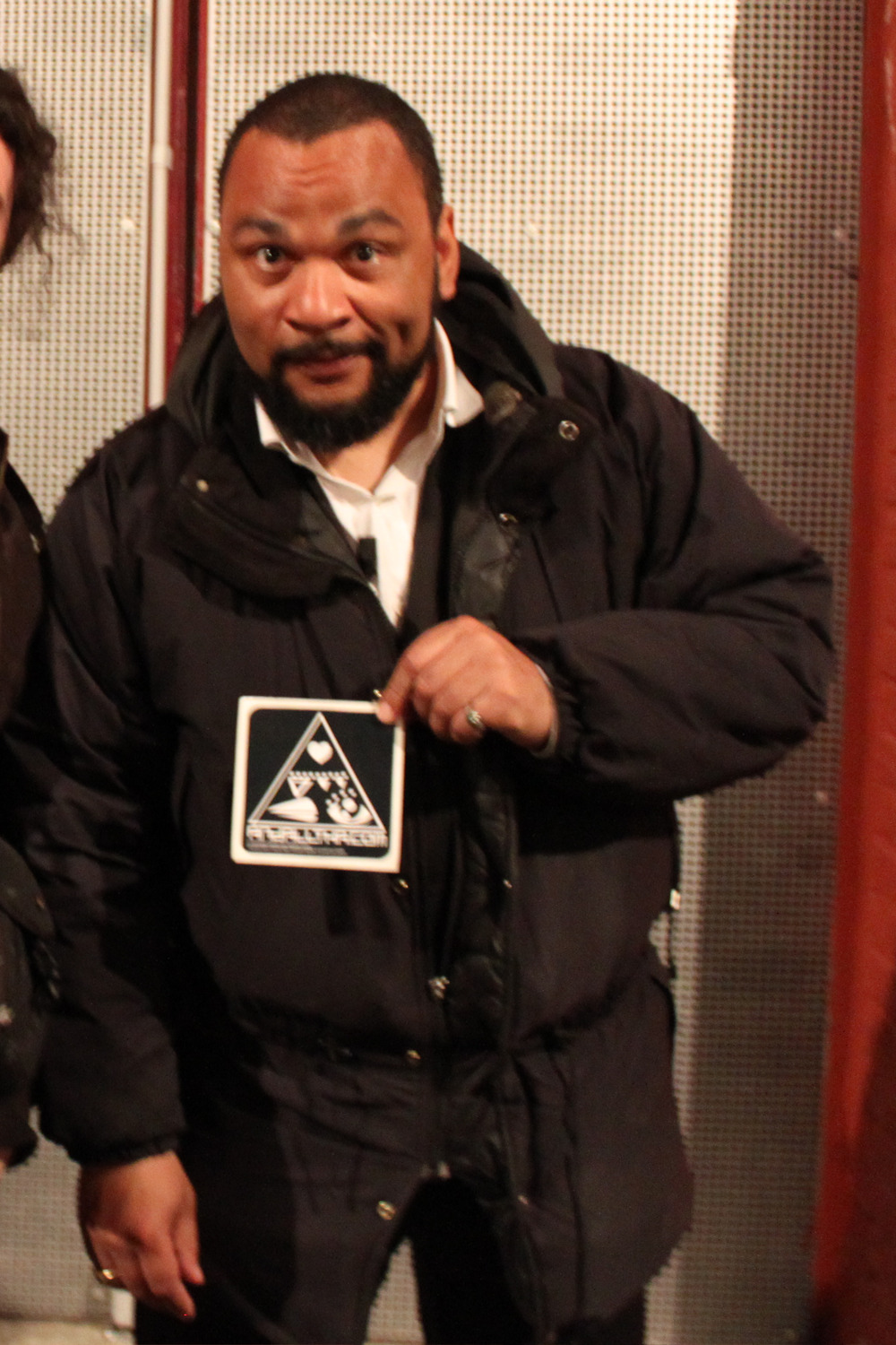 Dieudonné M'bala M'bala for Andalltha. © Thierry Jaspart. All rights reserved.http://www.thierryjaspart.com