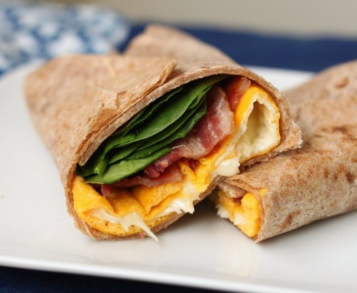 foodfuckery:  Two Minute Egg and Cheese Wrap Recipe