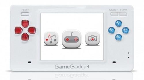 GameGadget handheld puts classic games in the palm of your hand