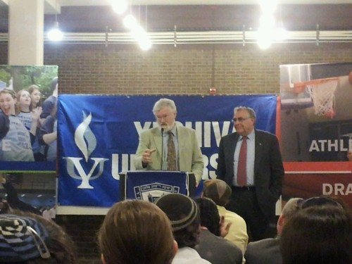 When did Yeshiva University hire Colonel Sanders?
