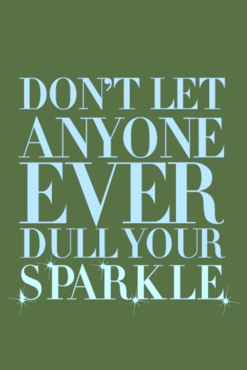 couragehopestrength:  Sparkle!
