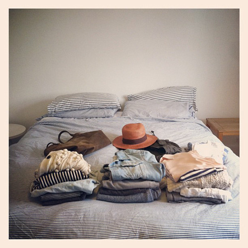 hautefavesdeux:  time to pack (expletive)
