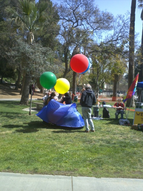 Here are some photos from LA #InterOcc Spring Is Coming gathering! #OccupySD #OLA. Tom Morello and Ben Harper joined us!