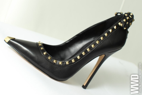 Shoes from Madonna's New Line Pointed-toe pump with stud details