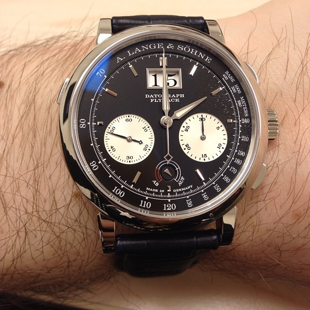 #womw a. lange & sohne datagraph flyback chrono (Taken with instagram)