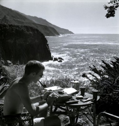 "gqfashion:  Your Morning Shot: Hunter S. Thompson ""I have a theory that the truth is never told during the nine-to-five hours."" - Hunter S. Thompson"