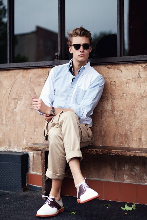 (via Men's Fashion / shoes. shirt. watch. hair.)