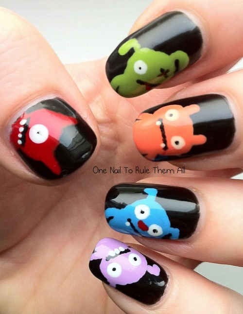 ugly doll nails