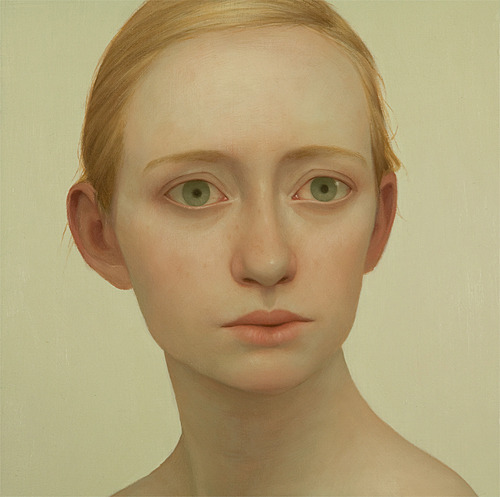 Tabitha 10, oil on panel, 18 x 18 inches, 2011Vail International Gallery, Vail, CO