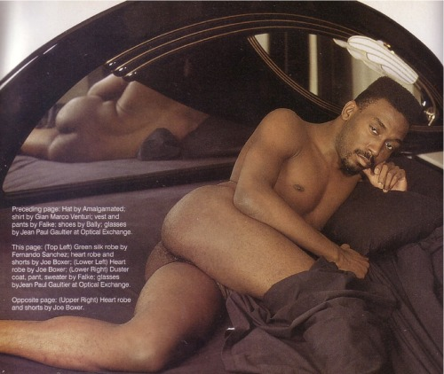 nakedcelebrity:  Big daddy kane playboy  Sexy