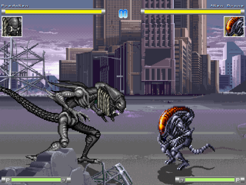 Predalien and Alien