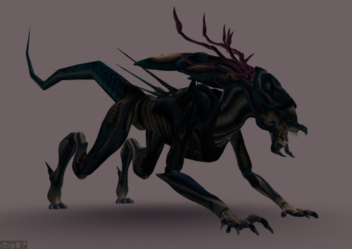 concept for predalien queen by Andrew Scott