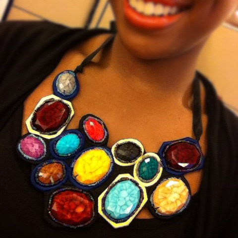Today's Jewelry Jam: Colorburst! All brightly colored everything from here on out. I'm SO ready for spring. Are you?