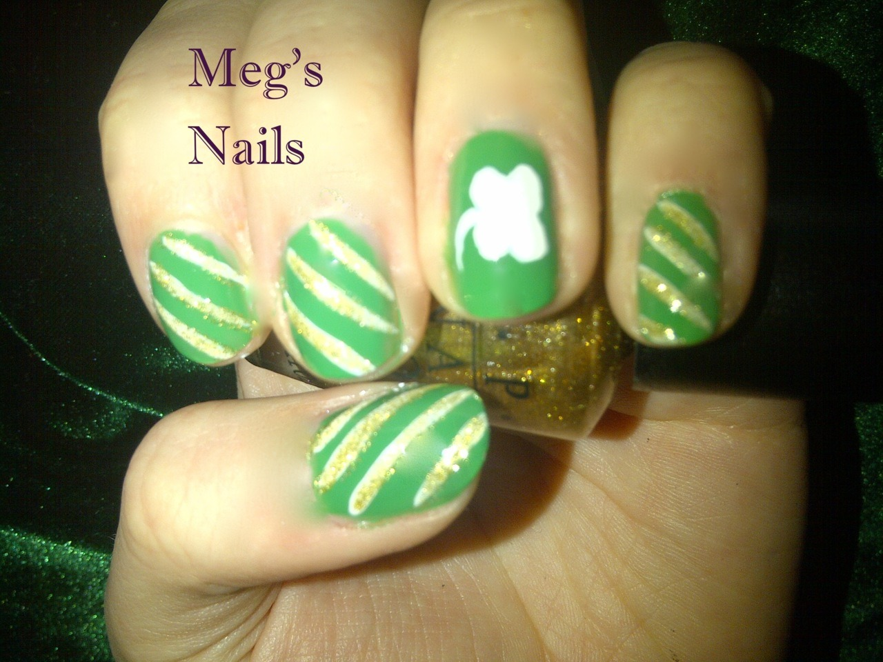 St. Patty's Day take 3! loving the diagonal stripes! Still more to come!!