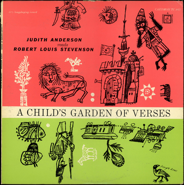 A Child's Garden of Verses, 1957 Illustration by Joseph Low via Stephen Kroninger