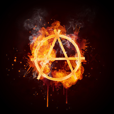americandissident:  Anarchy: Set the Capitalist System Ablaze