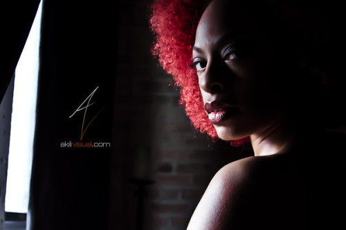 "#AkiliErotique Thursday - ""Crimson Morning"" pt2 - AkiliVisual Magazine Issue III #Erotique #NaturalBeauty Featuring: Nicole Renee Russo Photography By: @AkiliVisual"