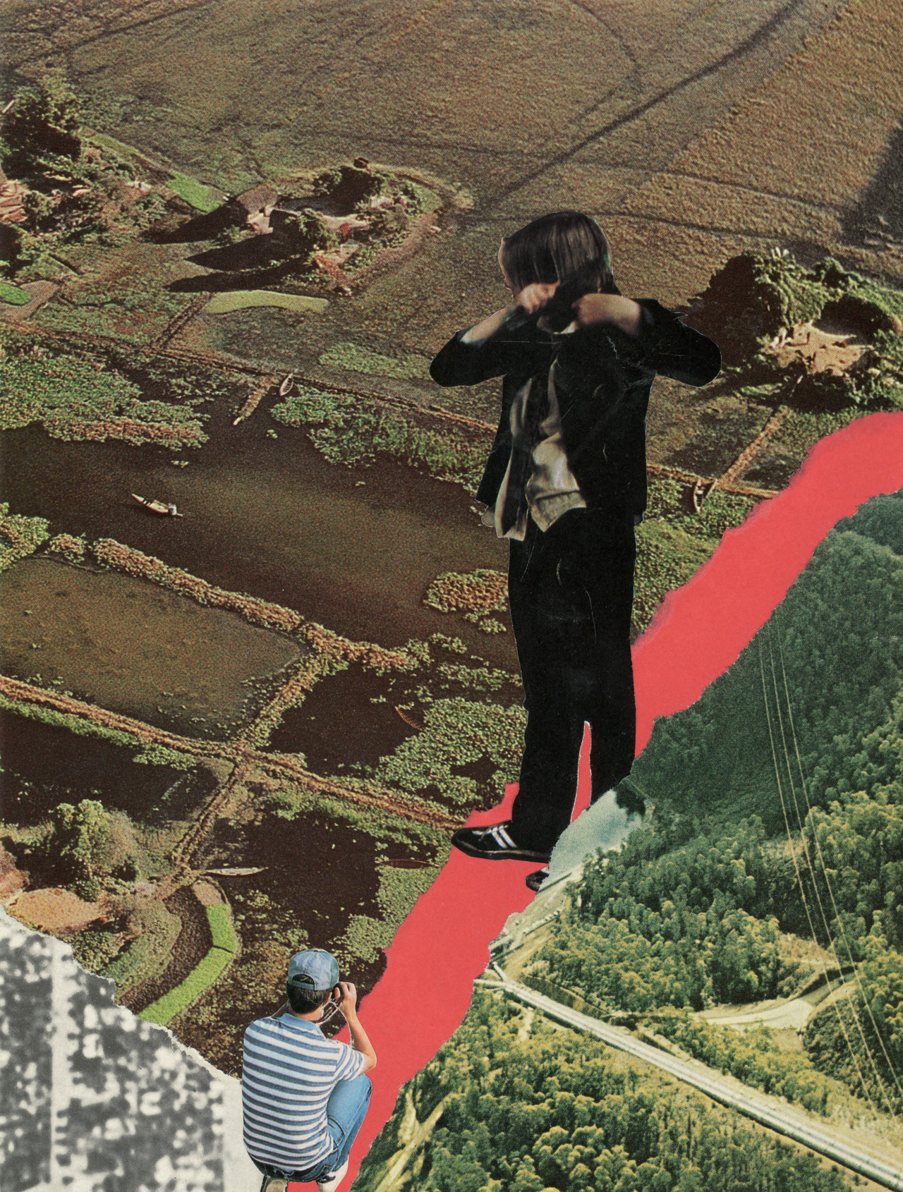 """When Harold met Maude"" by: aricollage Analogue collage"