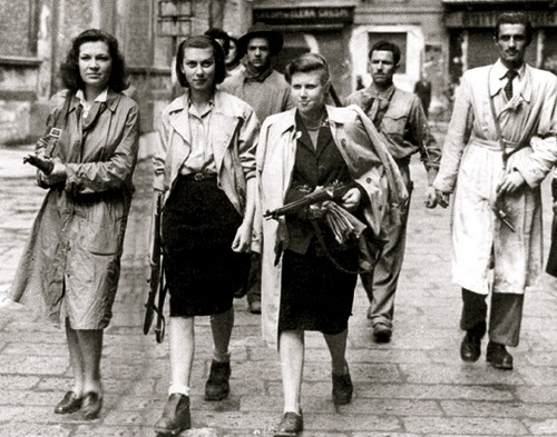 mary-beth:  Female members of the French Resistance (1940s)