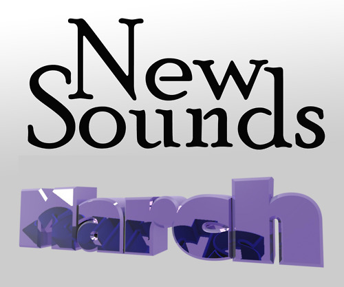 New Sounds is a series of music playlists I'm building for work at Playlist.com. The goal is to give people a playlist of rising music stars. Discovery!