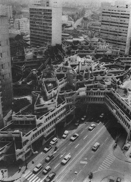 betonbabe:  JEAN RENAUDIE JEANNE HACHETTE CENTER IN IVRY, 1969-1972